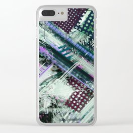 Tracking code Clear iPhone Case
