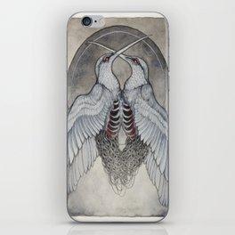 Coalesce art print  iPhone Skin