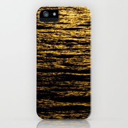 The Goldsoundwaves 2 iPhone Case