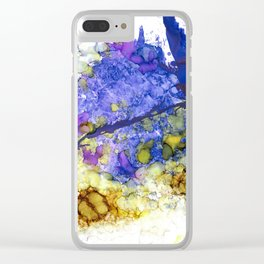 Birth of a Raven Clear iPhone Case