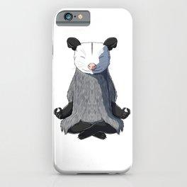 Opossum Meditated iPhone Case