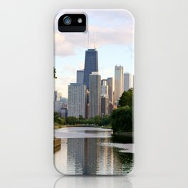 Chicago by River iPhone Case