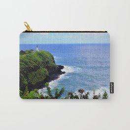 Kilauea Point Lighthouse Kauai by Reay of Light Carry-All Pouch