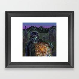 Mojo Wizard Framed Art Print
