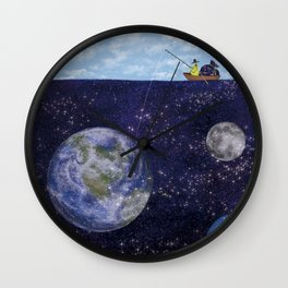 The Star Fisher Wall Clock