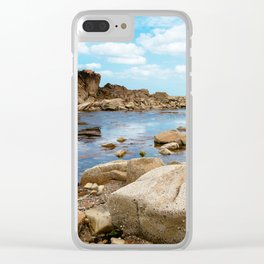 Seascape in the coast of Brittany Clear iPhone Case