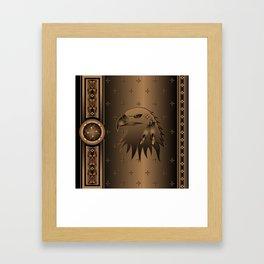 Eagle Nation Framed Art Print