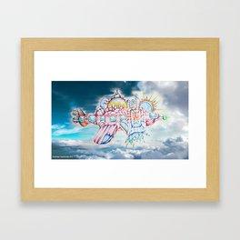 Boopie Sky Framed Art Print