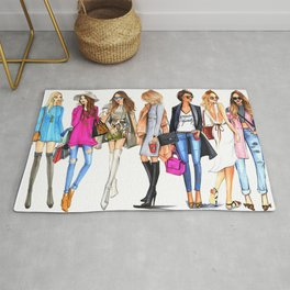FASHION---GIRL Rug