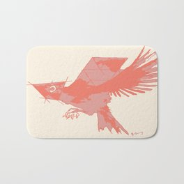 Tilted Bird Bath Mat