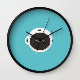 The Spaceman on Earth Wall Clock