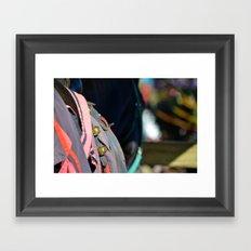 Jousting Horse - Bells Framed Art Print