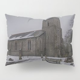 Dunkirk Church In Winter Pillow Sham
