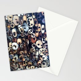 muffled smiles 2 Stationery Cards