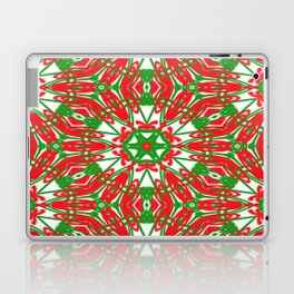 Red, Green and White Kaleidoscope 3376 Laptop & iPad Skin