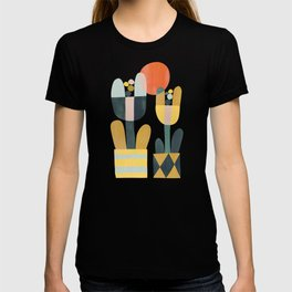 Two flowers T-shirt