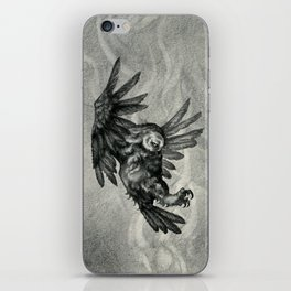 The Owl and the Witch iPhone Skin