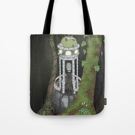 temple of the gatekeeper Tote Bag