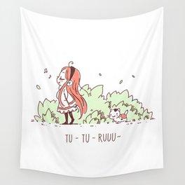 Tu Tu Ruuu Wall Tapestry