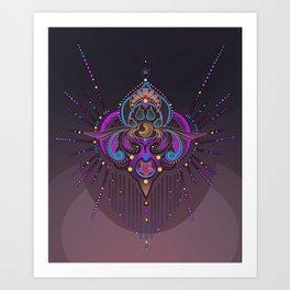 Dreamcatcher - Of Paws n Grace Art Print