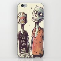 zombies iPhone & iPod Skins featuring Zombies! by Peerro
