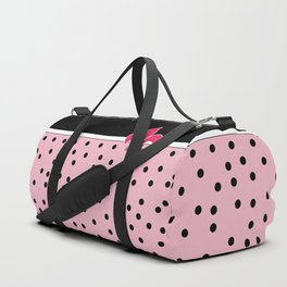 Pink Black Collection Duffle Bag