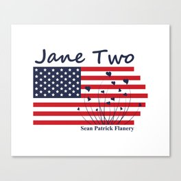 The Story Of Jane Two Canvas Print