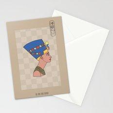 Queen Nefertiti Stationery Cards