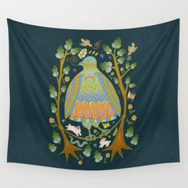 Bird on a Wire Wall Tapestry