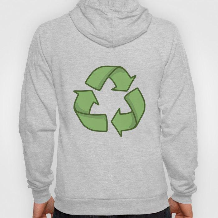 Recycle Symbol Hoody