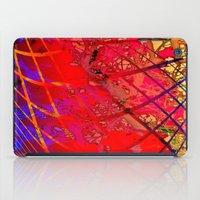 tim burton iPad Cases featuring t. burton a by David Mark Lane