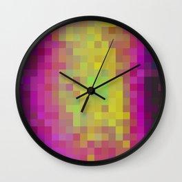 Aqua Color Study Wall Clock