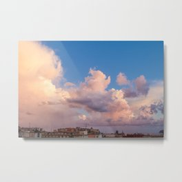 Sky on the bay of Naples Metal Print