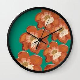 cannon ball fire Wall Clock