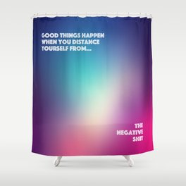 Good Things Happen Shower Curtain