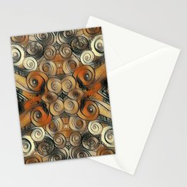 Coiled Metals Stationery Cards