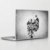 jack skellington Laptop & iPad Skins featuring Jack Skellington by bimorecreative