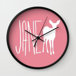 Life is Strange - Jane Doe Wall Clock