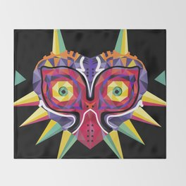 Majora's Incarnation Throw Blanket