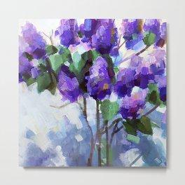 Lilac Branch Metal Print