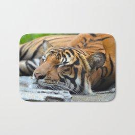 Tiger, Tiger Fast Asleep Bath Mat