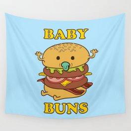 BABY BUNS 2 Wall Tapestry