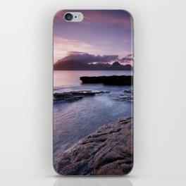 Elgol Beach IV iPhone Skin