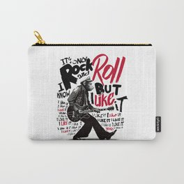 Rock and Roll Chimp Carry-All Pouch