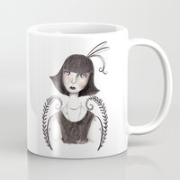 fern Mugs featuring Fern by nicky costi