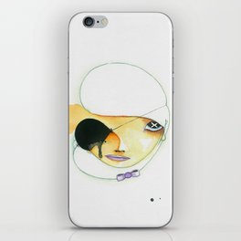 In one ear and out the other iPhone Skin