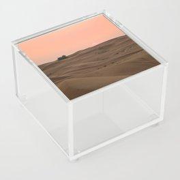 Arabian Desert Sunset Acrylic Box
