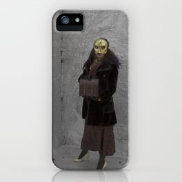 Wearing My Skeleton on My Face, No. 8 iPhone Case