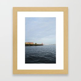 Fells Point Framed Art Print
