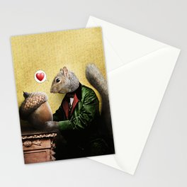 Mr. Squirrel Loves His Acorn! Stationery Cards